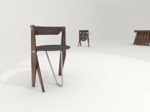 krzeslo chair design projekty mebli 1 Piotr Wolinski Architektura
