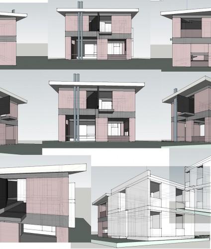 projekt domu jednorodzinnnego rozbudowa widoki 2 house projects Lublin Piotr Wolinski Architektura