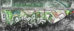 projekt urbanistyka krajobraz PARK NA BLONIACH
